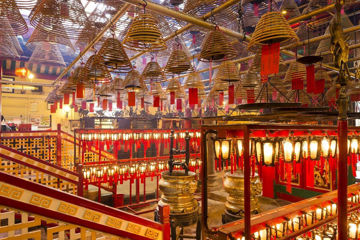 Templo Man Mo, Hong Kong, Hong Kong