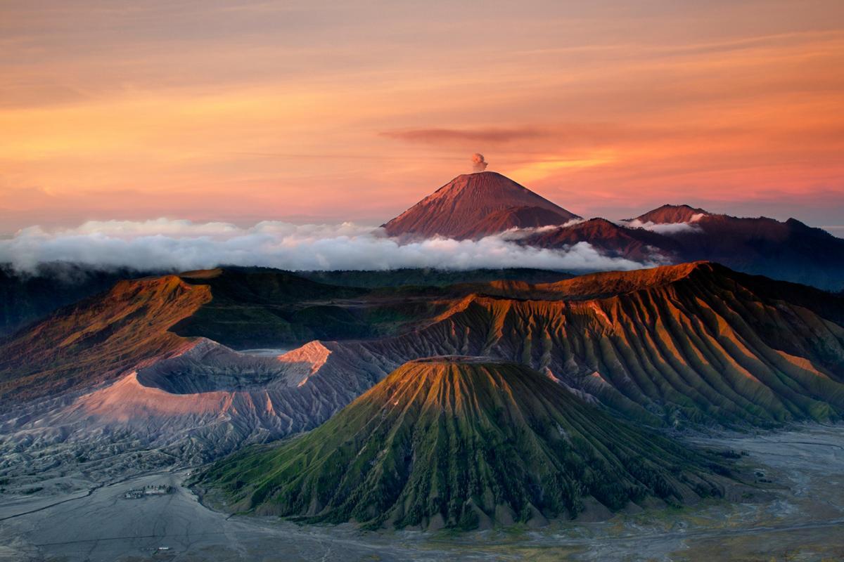 Monte Bromo, Parque Nacional Tengger-Semeru, Java, Indonesia
