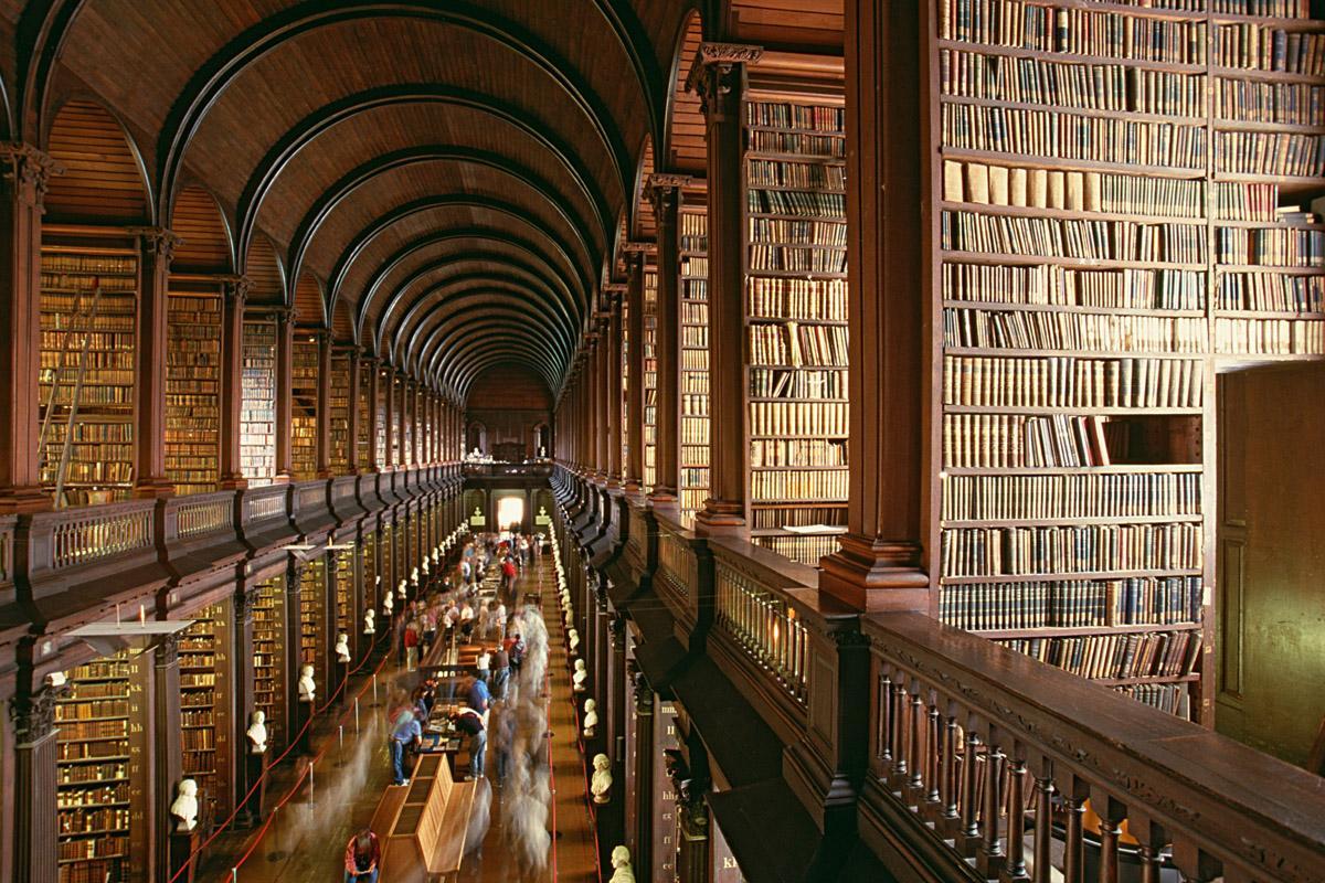 Biblioteca Trinity College Dublin, Dublín, Irlanda