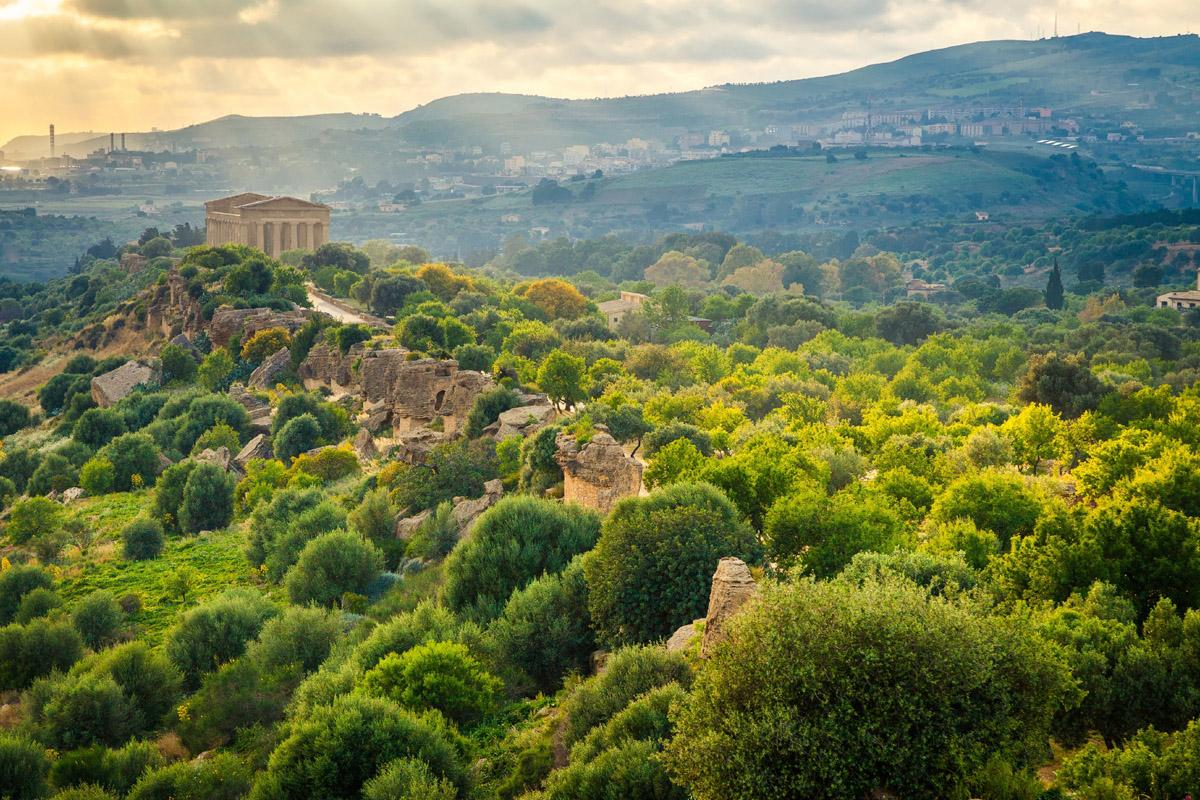 Agrigento, Sicilia, Italia