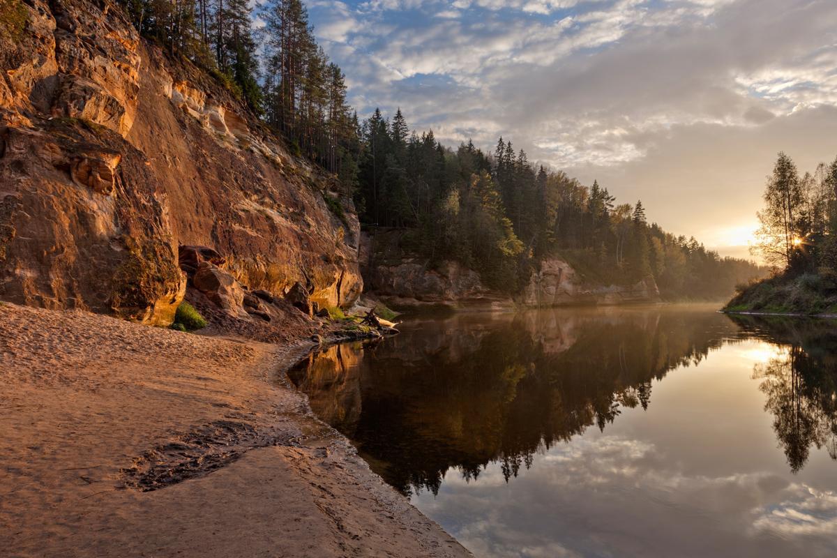 Parque Nacional Gauja, Letonia