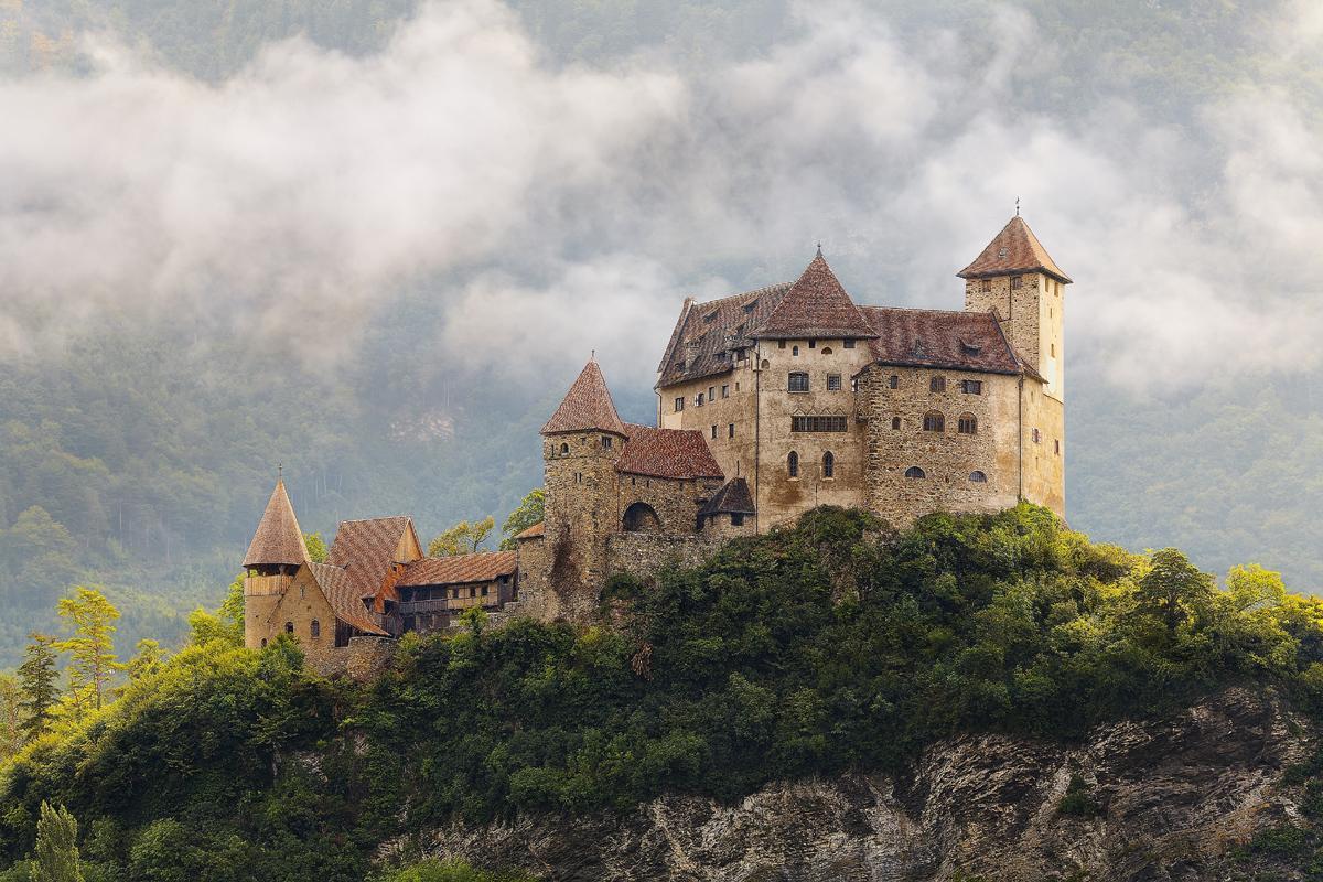 Castillo Gutenberg, Liechtenstein