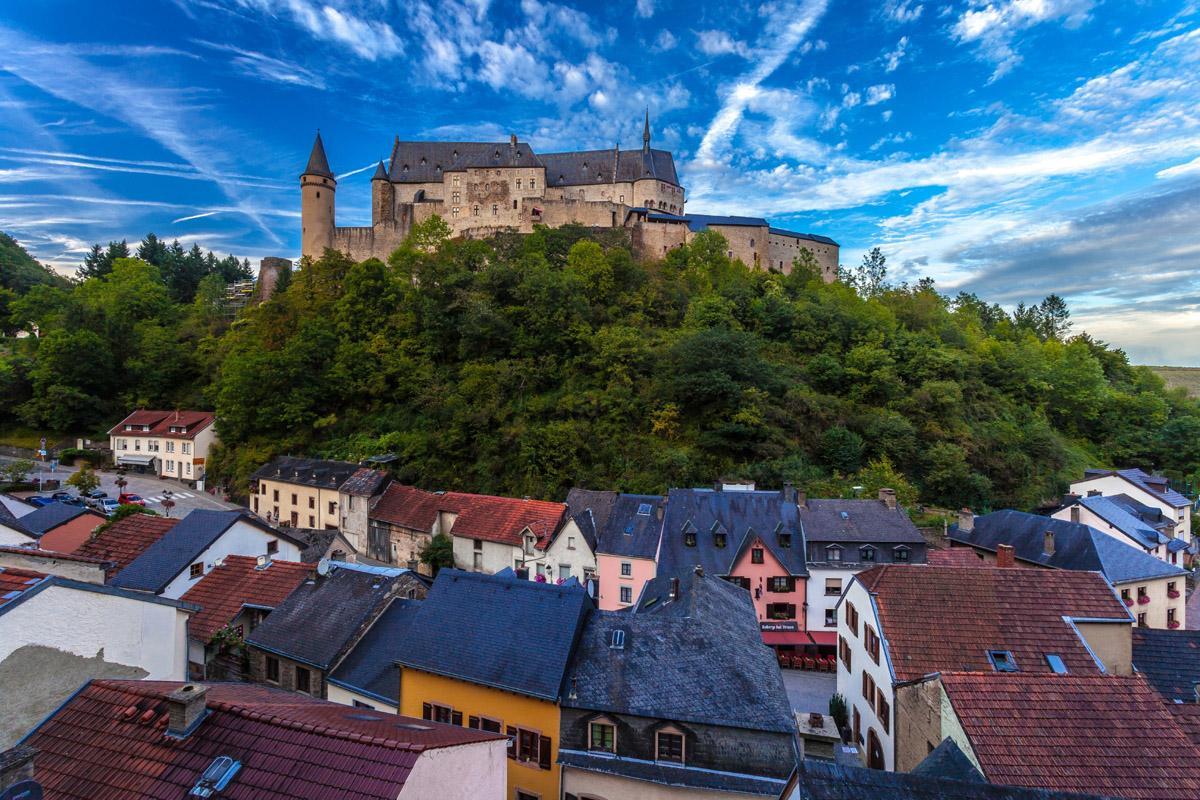 Castillo Vianden, Luxemburgo