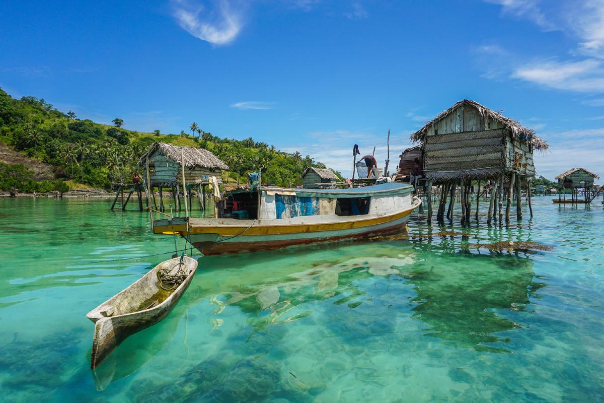 Isla Bodgaya, Borneo, Malasia