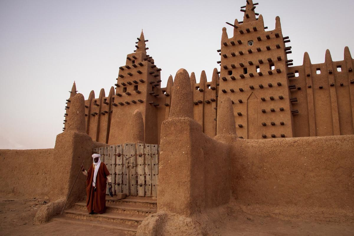 Gran Mezquita, Djenne, Malí