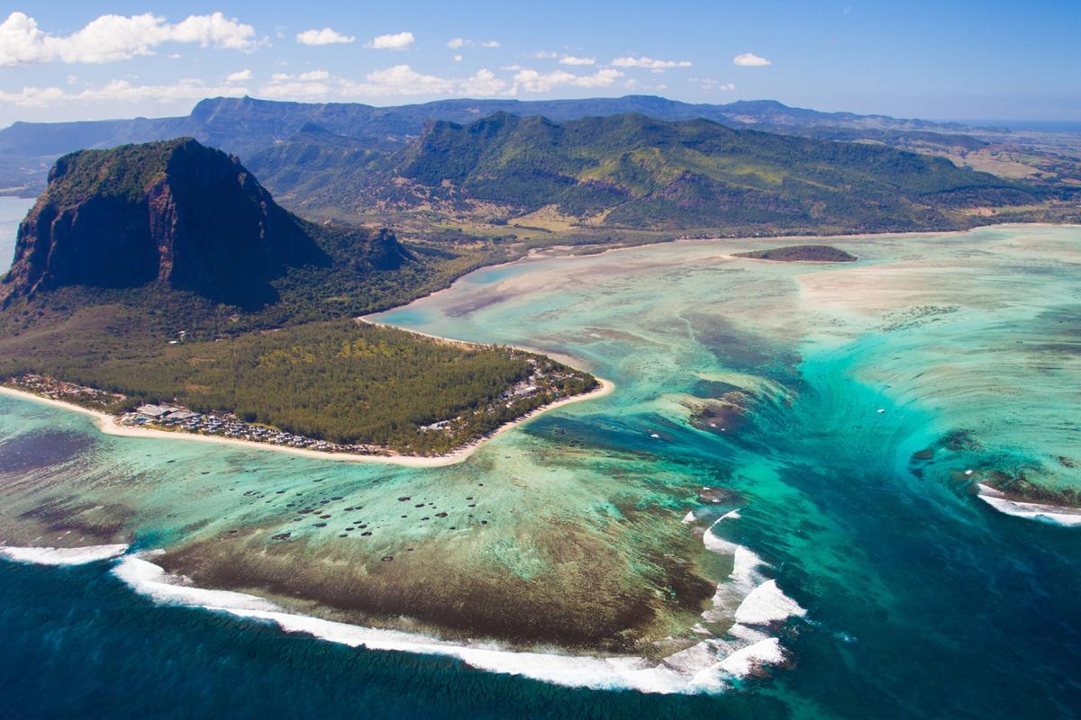 Península Le Morney, Río Negro, Mauricio