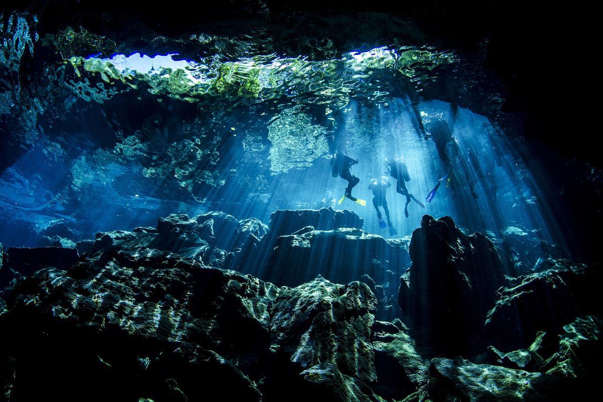 Cenote Chac-Mool, México