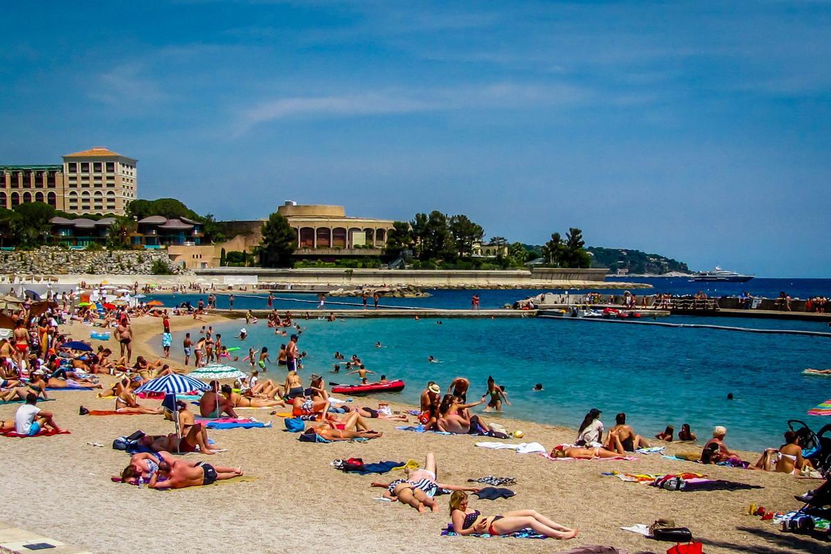 Playa de Montecarlo, Mónaco