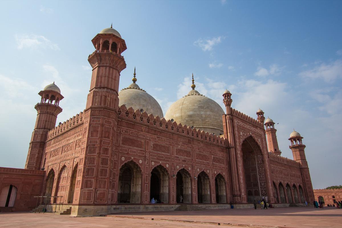 Mezquita Badshahi, Lahore, Pakistán