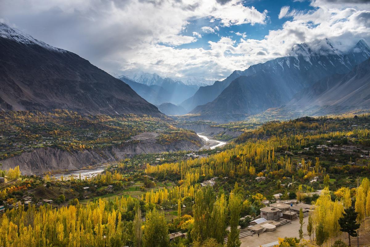 Valle Hunza, Pakistán