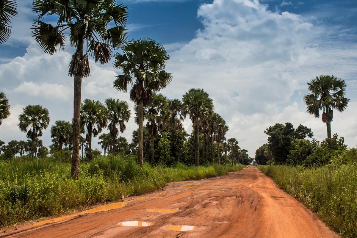 Cerca de Juba, Sudán del Sur