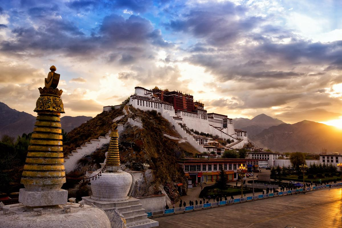 Palacio Potala, Tíbet