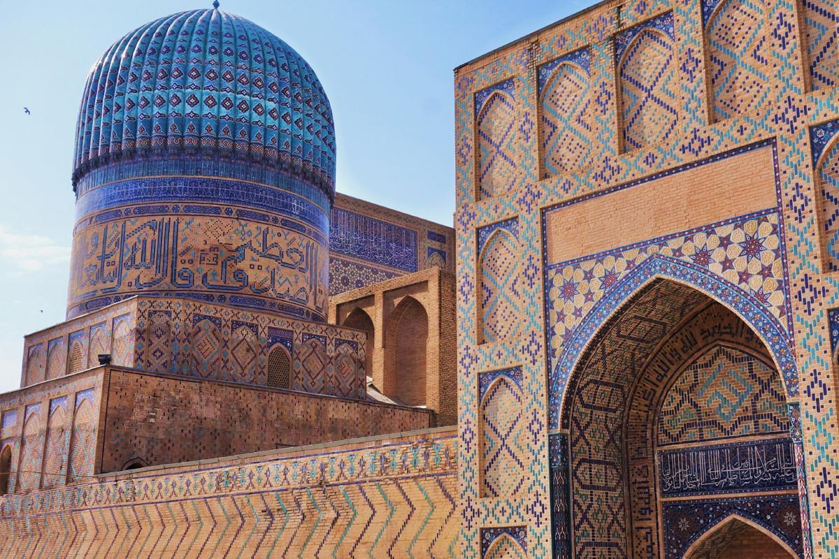Mezquita Bibi-Khanym, Samarcanda, Uzbekistán