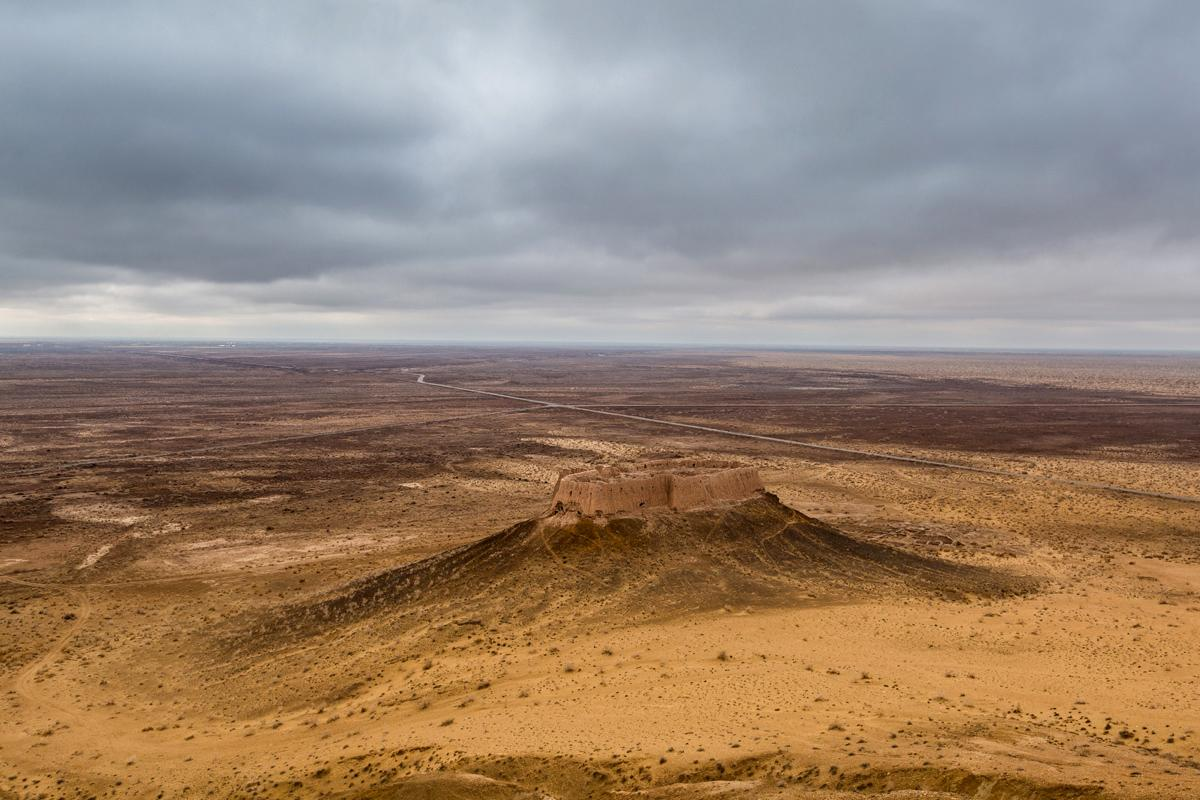 Fortaleza Elliq-Qala, Uzbekistán