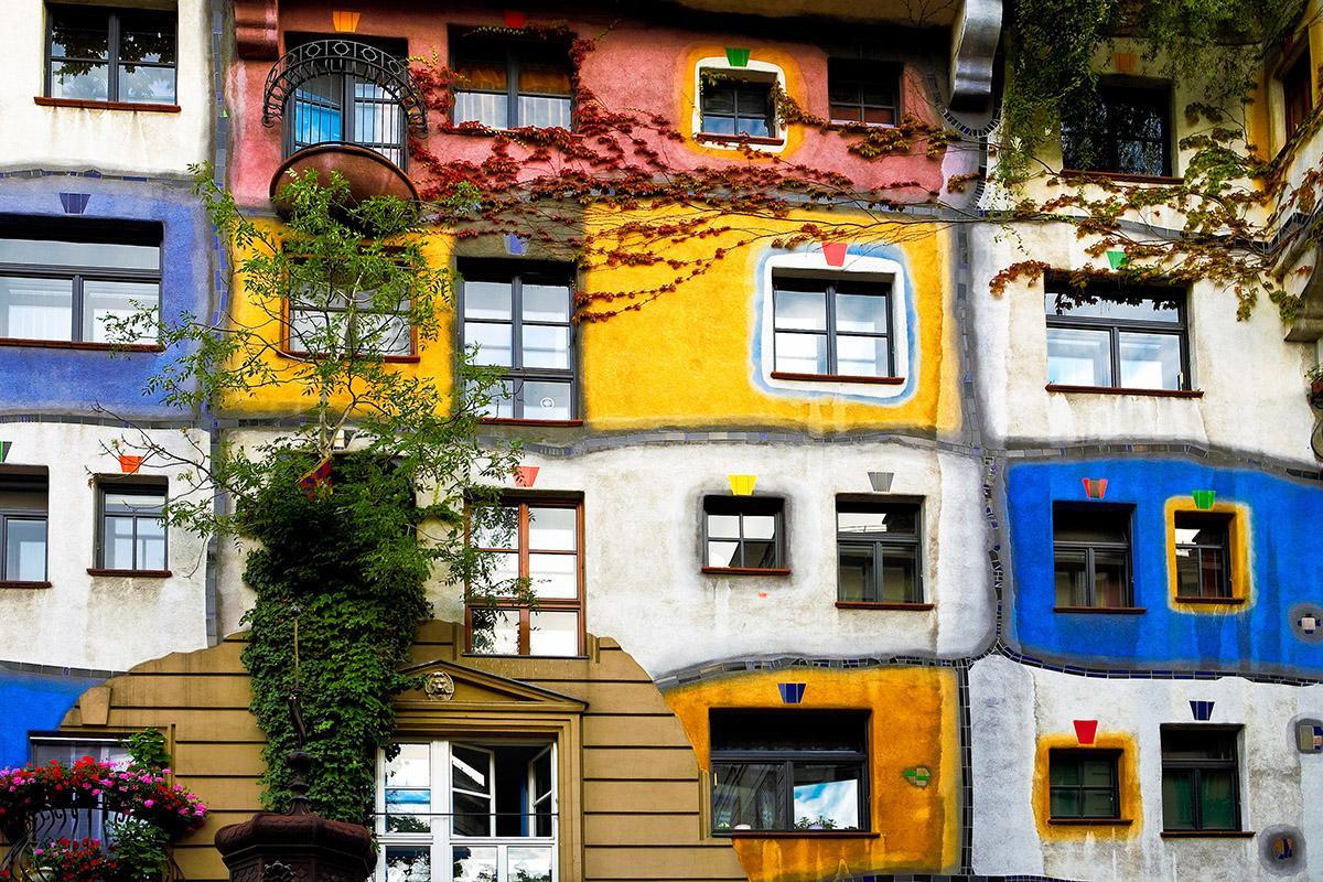 Hundertwasser, Viena, Austria