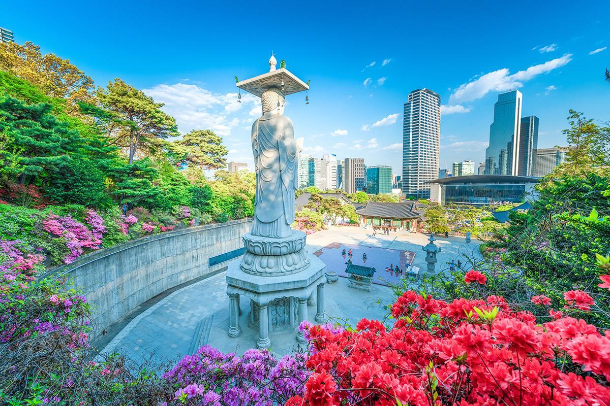 Bongeun-sa, Seúl, Corea del Sur