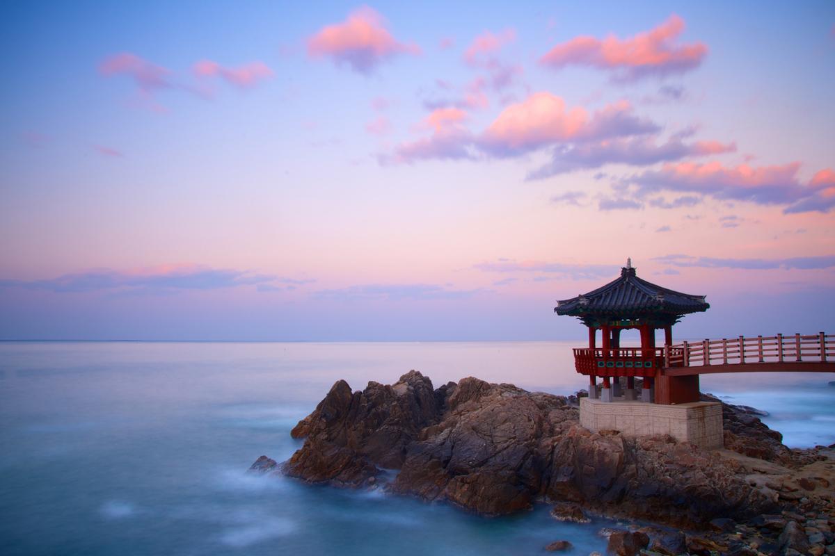 Costa este, Corea del Sur