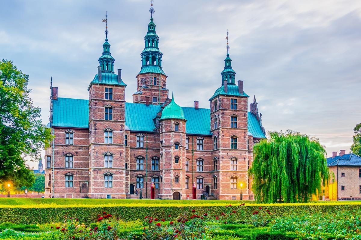 Rosenborg Slot, Copenhague, Dinamarca