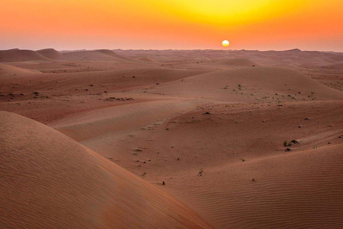 Desierto de Dubái, Emiratos Árabes Unidos