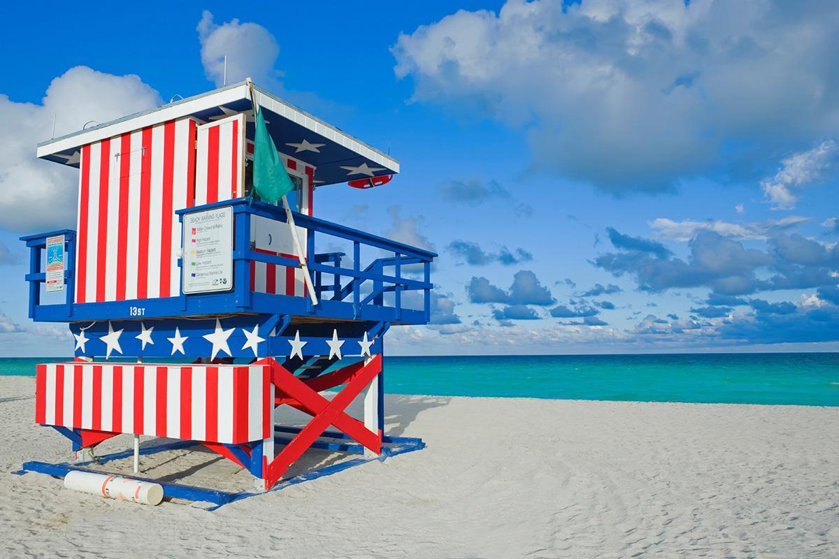 Miami, Florida, costa este de Estados Unidos