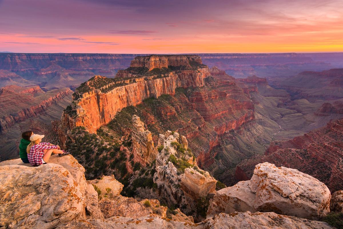 Gran Cañón, Arizona, costa oeste de Estados Unidos