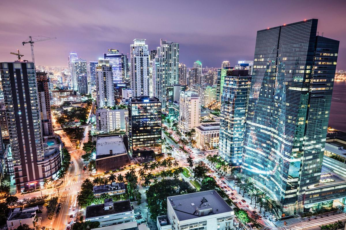 Downtown, Miami, Florida, EE UU