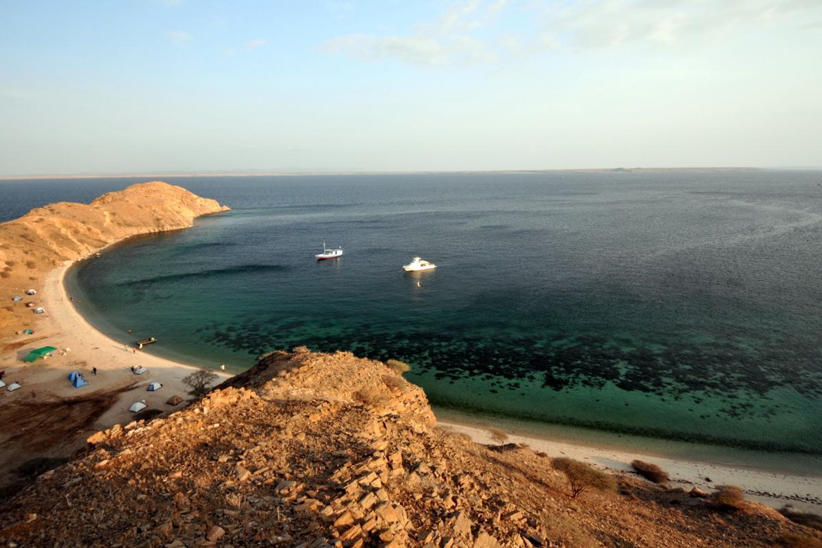 Mar Rojo, Islas Dahlak