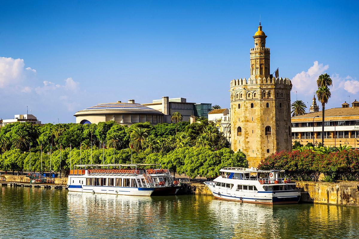 Torre del Oro, Sevilla, Andalucía, España