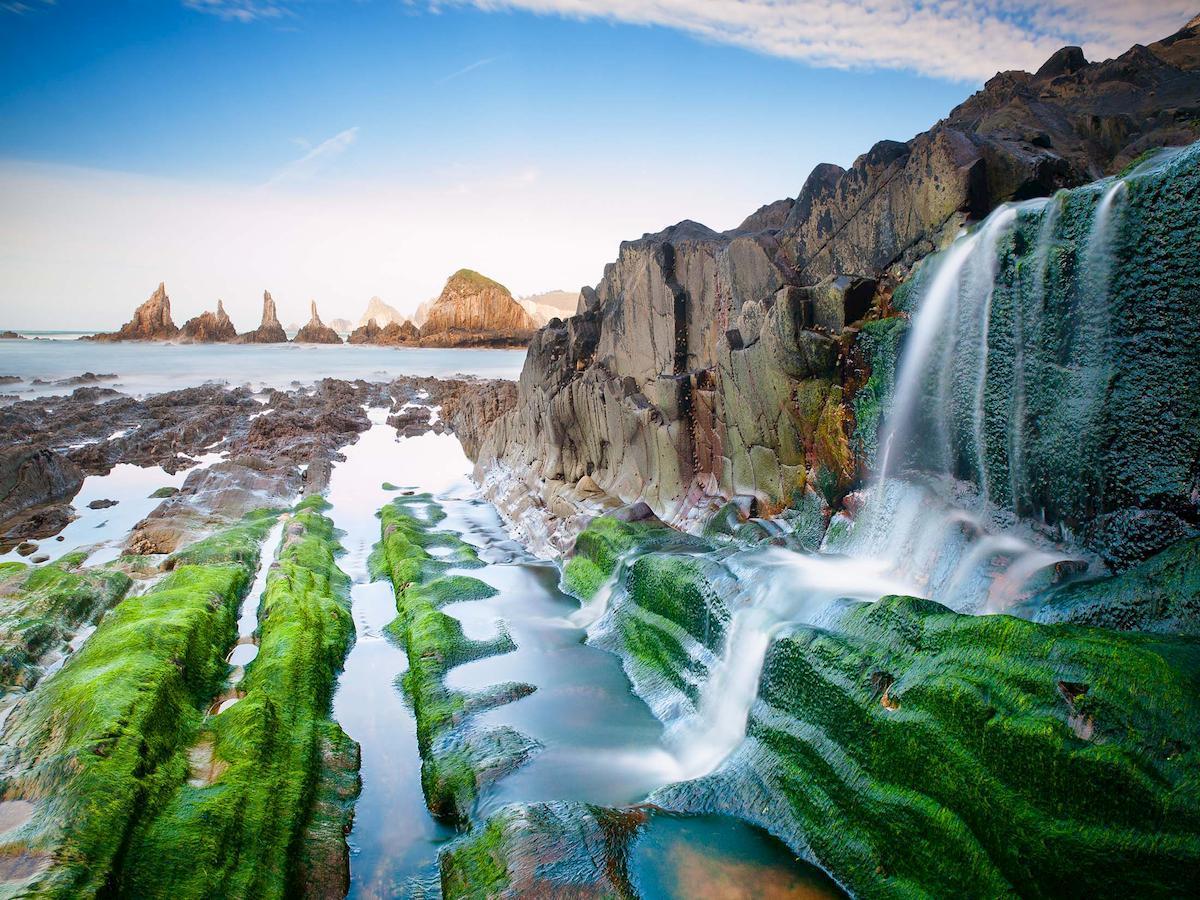 Asturias, Playa Gueirua, Cudillero