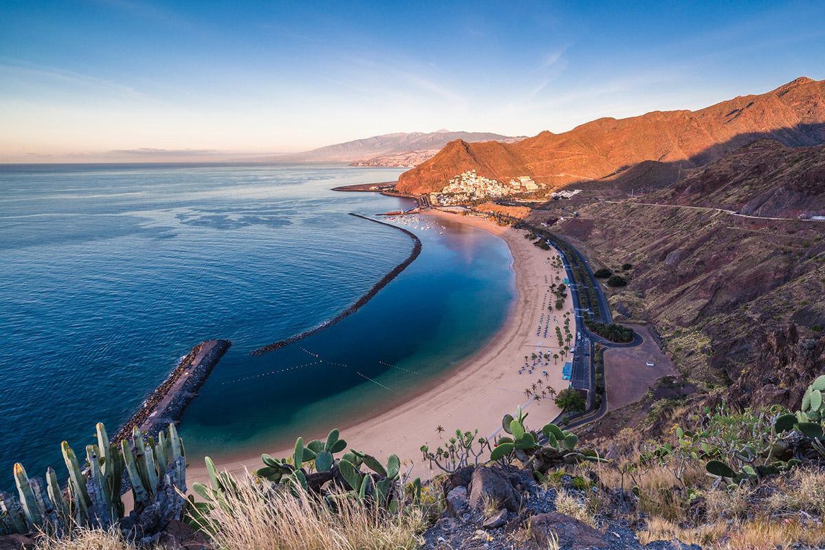 Playa de las Teresitas, Tenerife, Canarias
