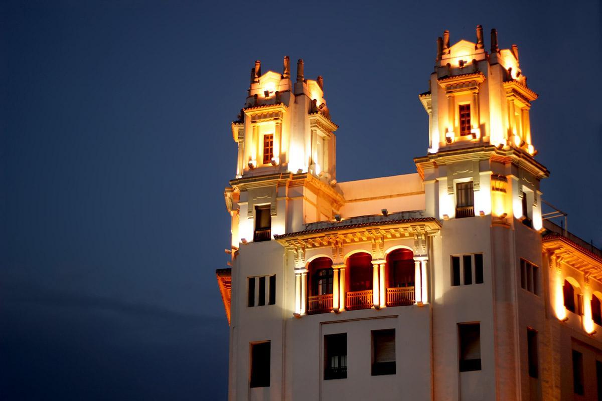 Edifico de Ceuta, España