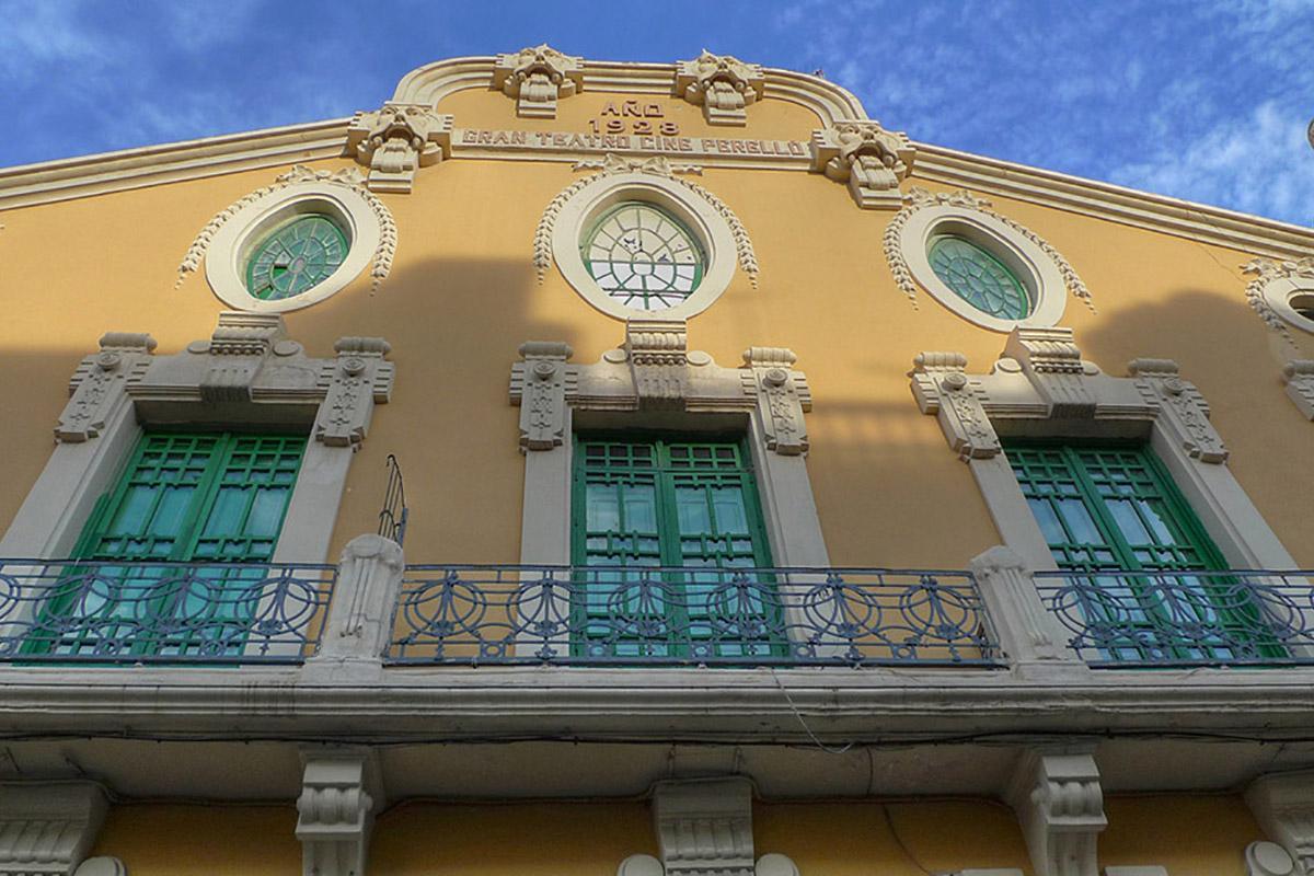 Modernismo en Melilla, España