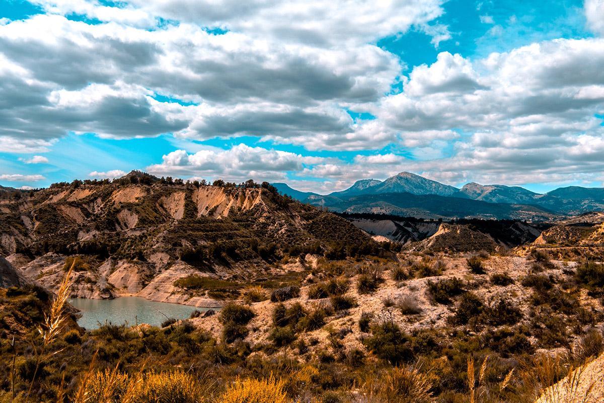 Barrancos de Gebas, Murcia, España