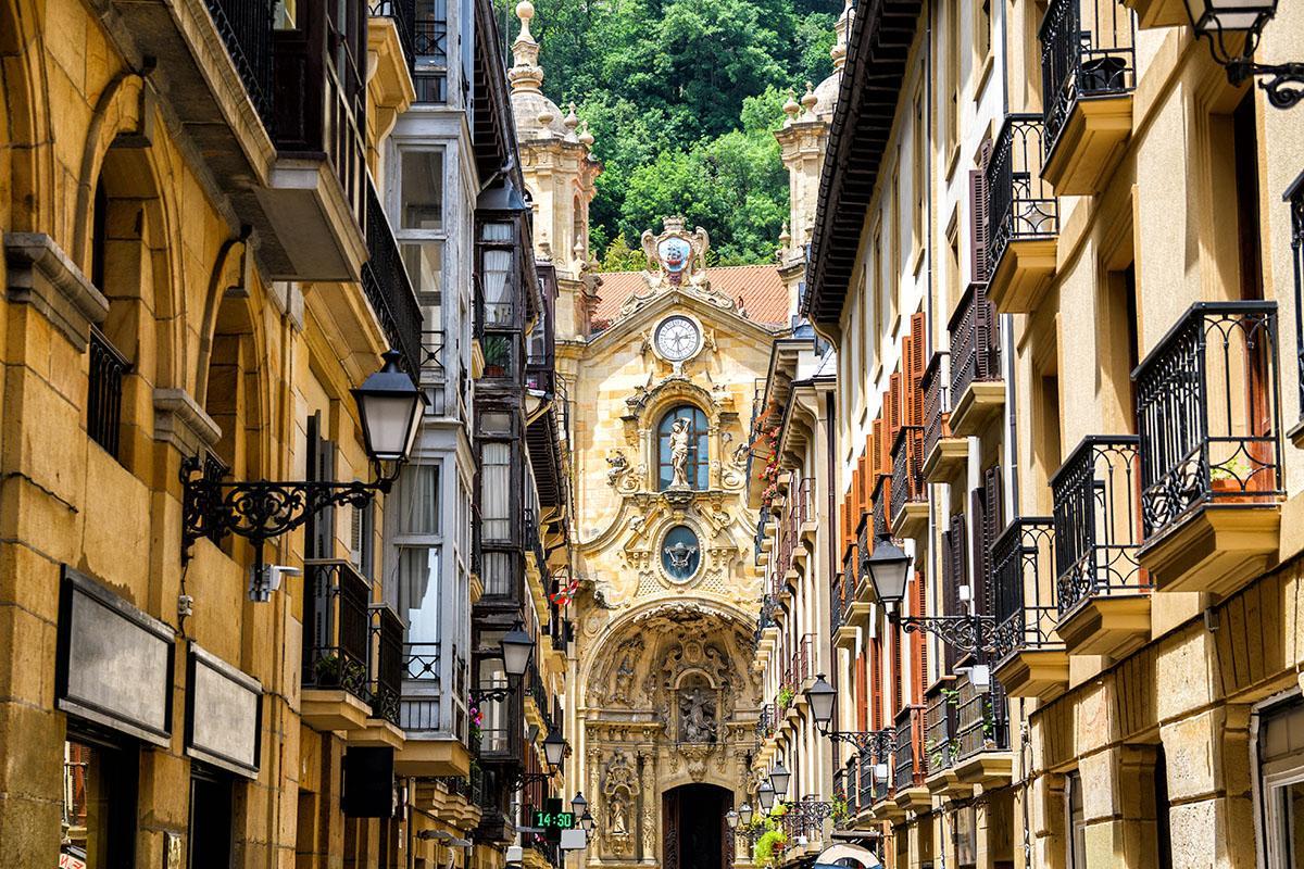 Basílica de Santa María del Coro, San Sebastián, País Vasco, España