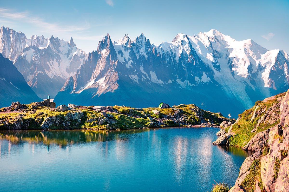 Lac Blanc, Saboya y Mont Blanc, Francia