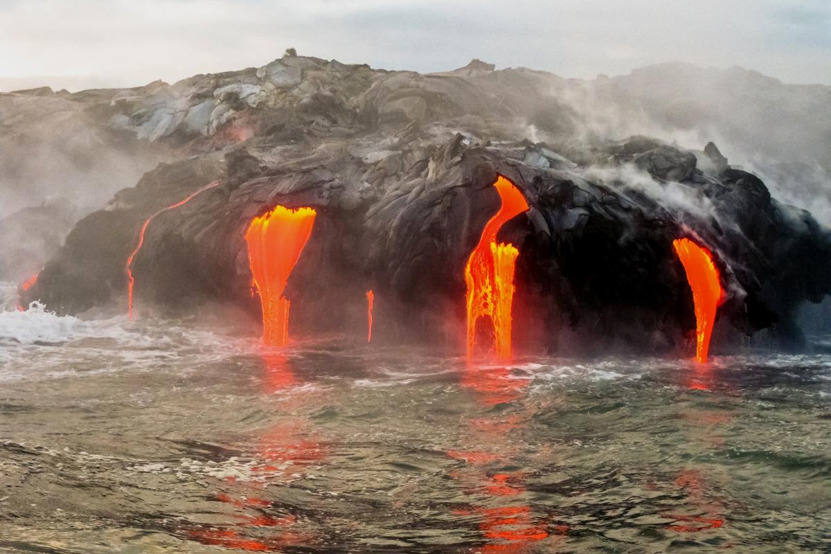Parque Nacional Volcanoes, Hawái