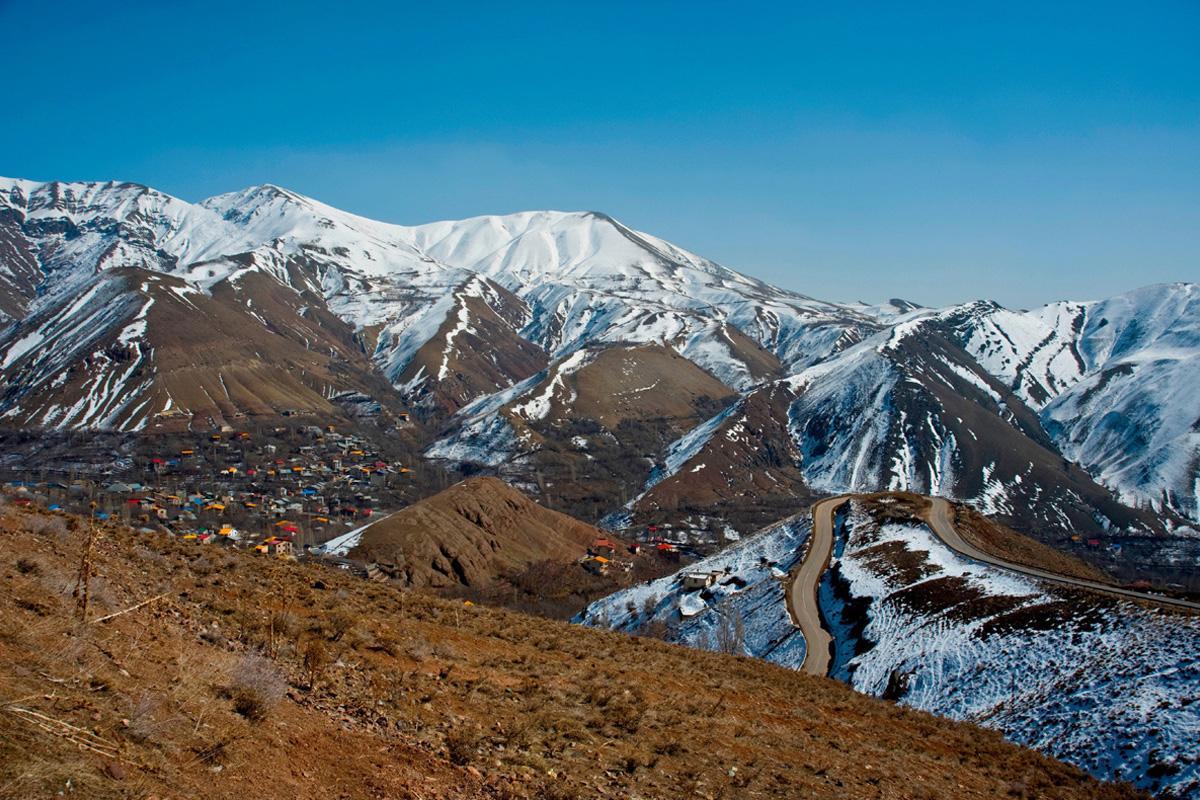 Monte Damavand, Irán