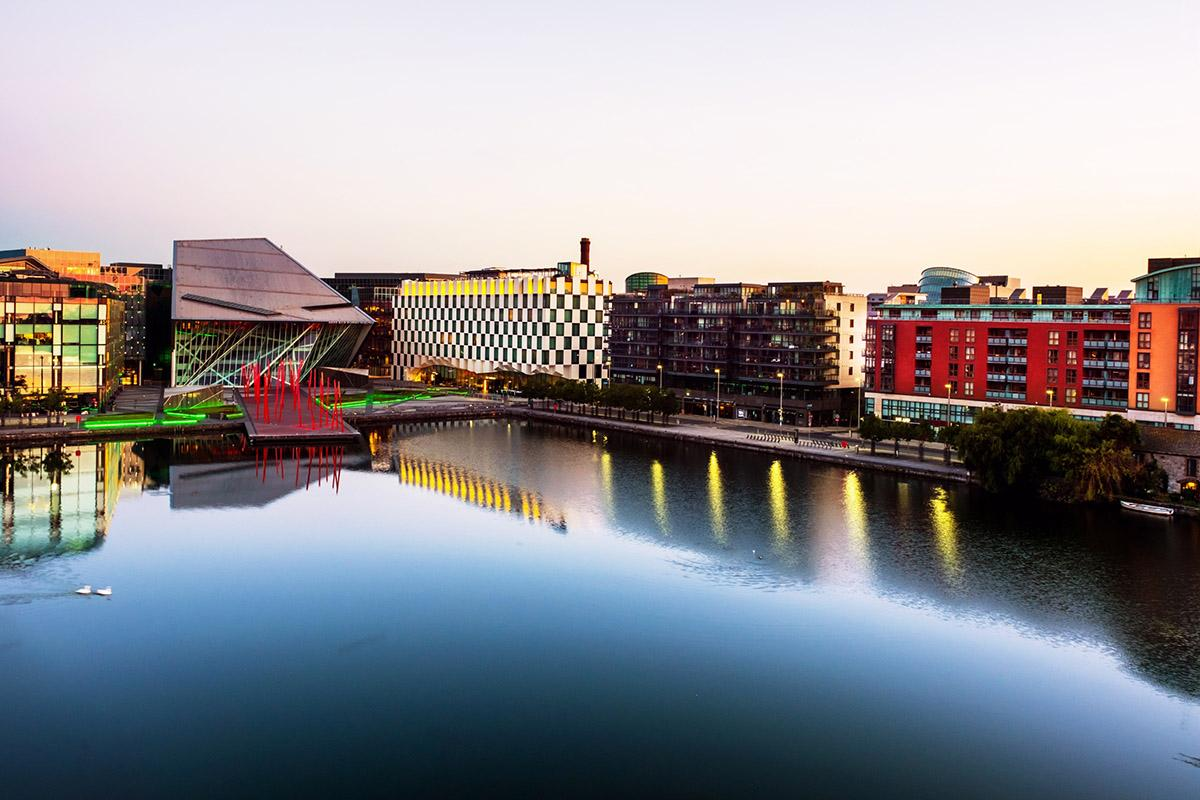 Grand Canal, Dublín