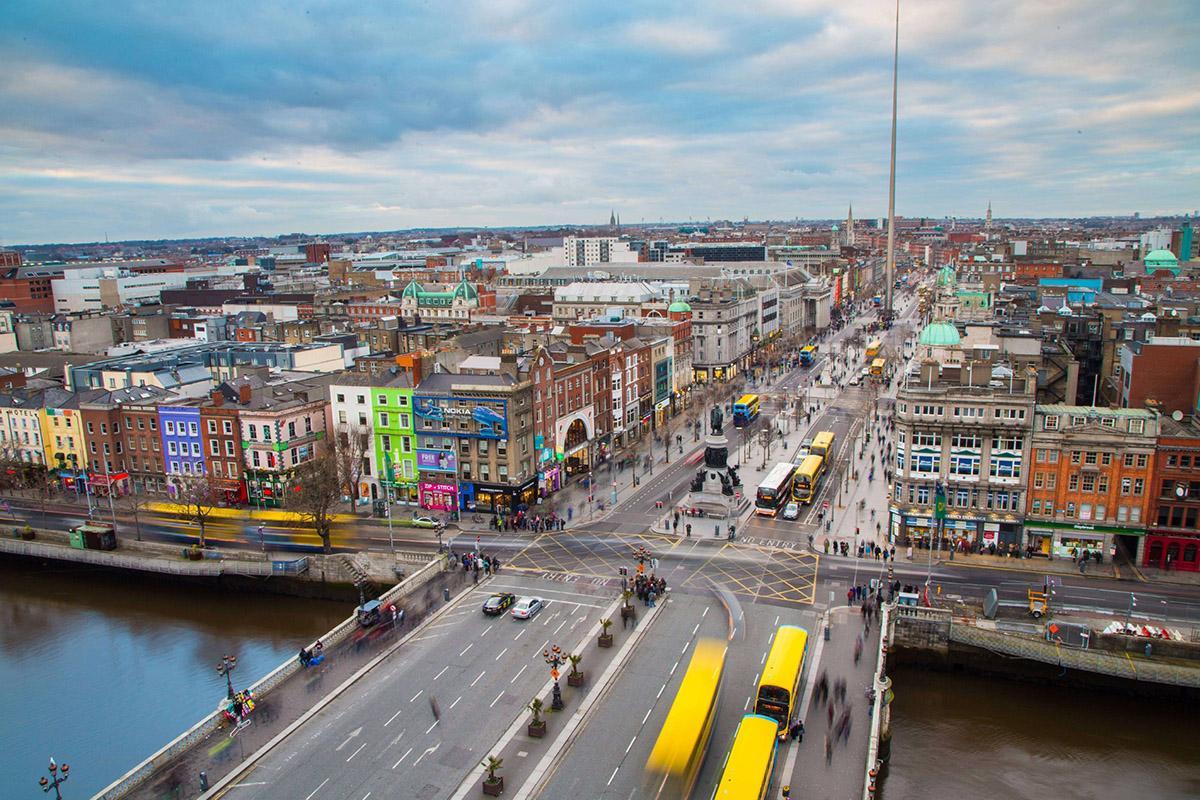 O'Connell Street, Dublín, Irlanda
