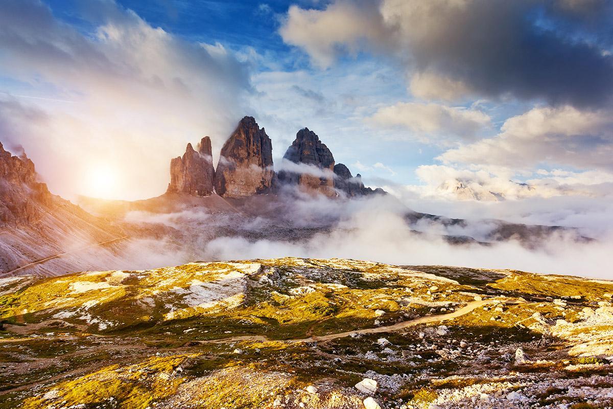 Tre Cime di Lavaredo, Dolomitas, Italia