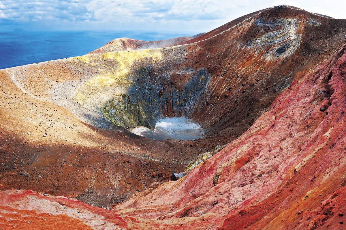 Cráter de Vulcano, Islas Eolias, Italia