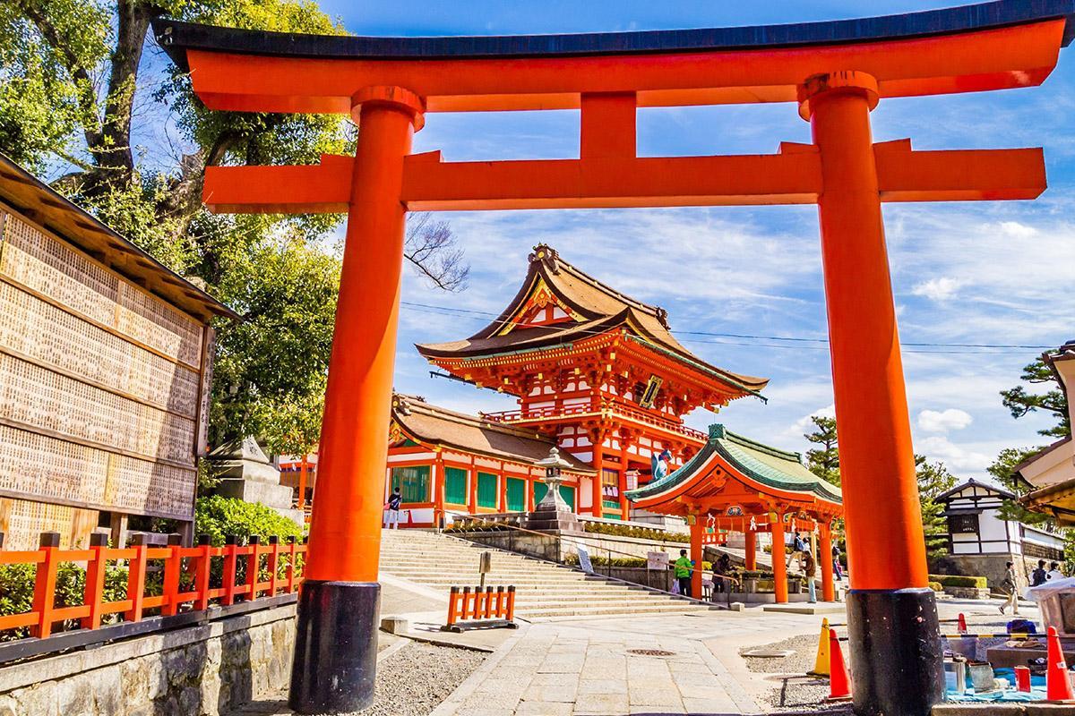 Fushimi Inari Taisha, Kioto, Japón