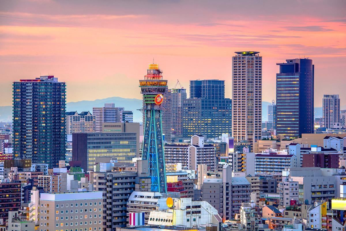 Shinsekai, Osaka, Japón