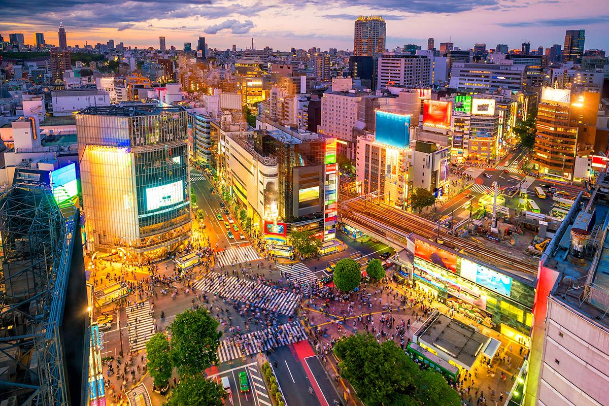 Cruce Shibuya, Tokio, Japón