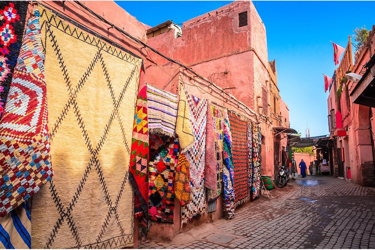 Medina de Marrakech, Marruecos