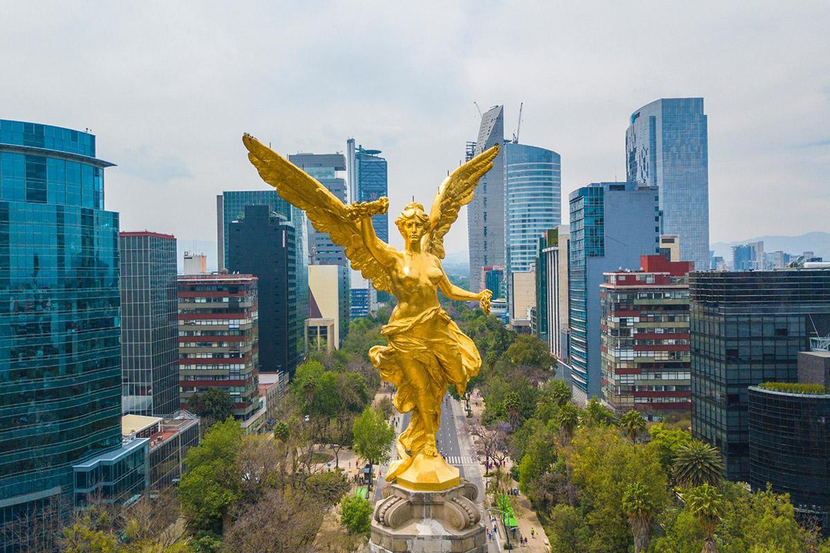 Ángel de la Independencia, Paseo de la Reforma, Ciudad de México, México