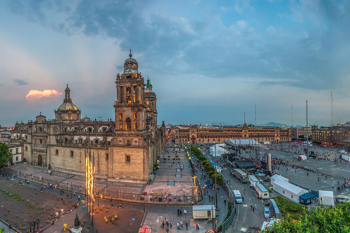 Catedral Metropolitana y Zócalo, Ciudad de México, México