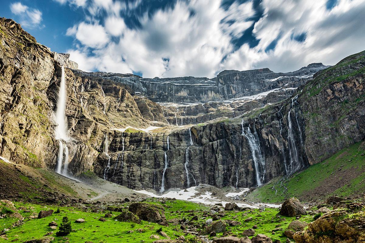 Cascada de Gavarnie, Pirineos Franceses