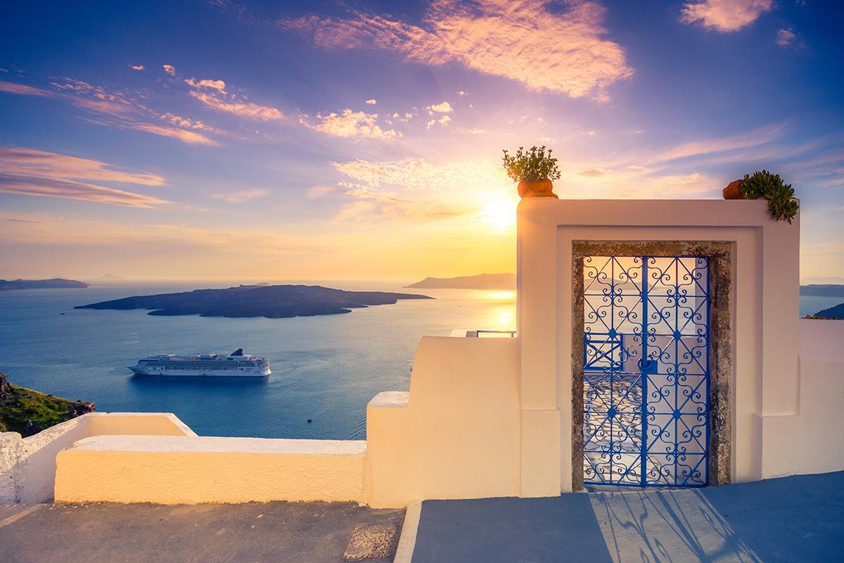 Fira, Islas Griegas