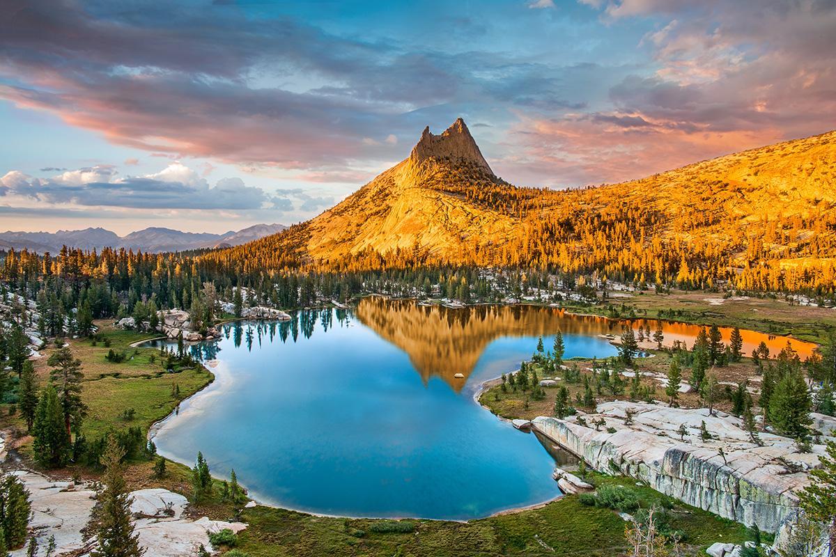 Parque Nacional Yellowstone, costa oeste de Estados Unidos